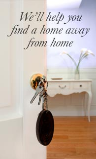 We'll help you find home away from home